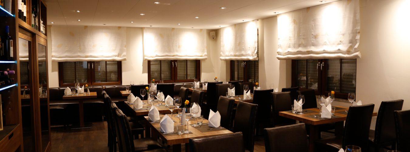 Gastraum Restaurant Adler