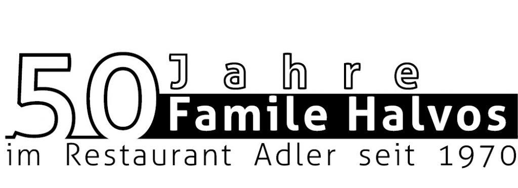 %0 Jahre Familie Halvos im Adler - seit 1970