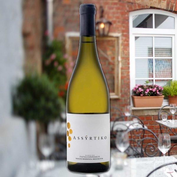 "2019 Papagiannakos Winery ""Assyrtiko"""