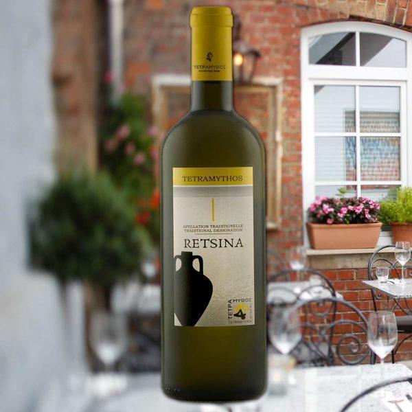 """2020 Tetramythos Winery """"Retsina Amphore"""""""