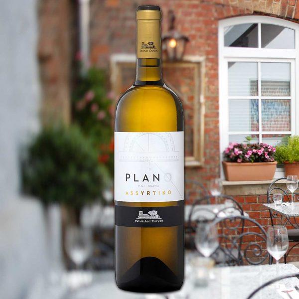 """2019 Wine Art Estate """"Plano Assyrtiko"""""""
